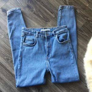Zara Trafaluc High waisted Super Skinny jeans